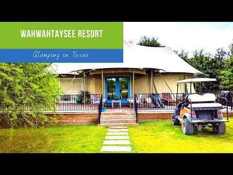 Glamping With Friends & Family at the Wahwahtaysee Resort