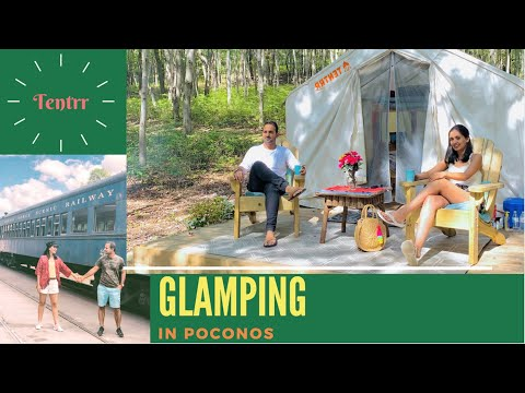 Glamping with Tentrr | Easy Camping experience in Jim Thorpe, Pennsylvania
