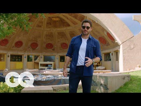 Join Edgar Ramirez for a Tour of Arcosanti, An Architectural Wonder In the Arizona Desert | GQ