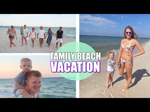 FAMILY BEACH VACATION 2020 | GULF SHORES | JACK'S FIRST TIME AT BEACH | HOLT AND ASHLEY VLOG