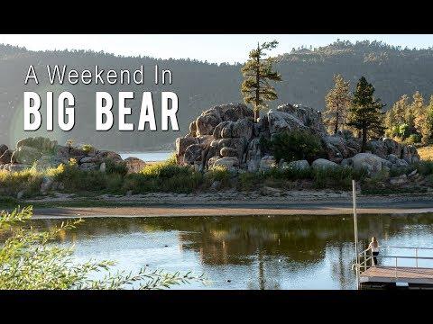 A Weekend in Big Bear Lake: Oktoberfest, Kayaking, Alpine Slide, & More
