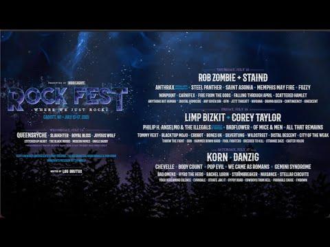 Rock Fest 2021 in Cadott, Wisconsin