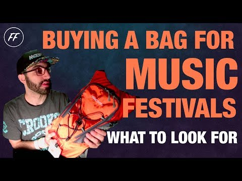 WHAT TO LOOK FOR WHEN BUYING A FESTIVAL BAG