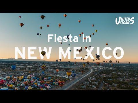 Visit the Hot Air Balloon Festival in Albuquerque