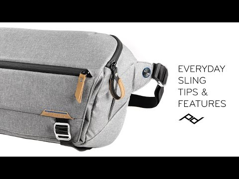 Peak Design Everyday Sling V1: Setup + Tips