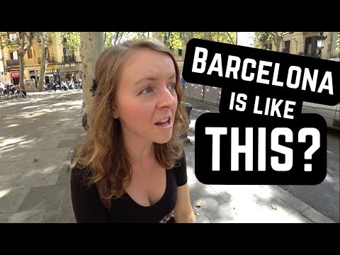 Things That SHOCKED US About BARCELONA