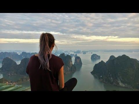 Bai Tu Long Bay + BEST VIEW EVER (Poem Mountain)