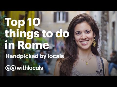 Top 10 things to do in Rome 👫 handpicked by locals