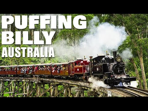 Puffing Billy Train - Iconic Australian Tourist Attraction