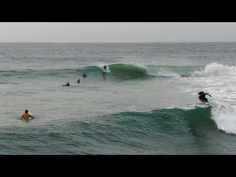 D.A. Lucky Surfing at Peanut farm, Sri Lanka