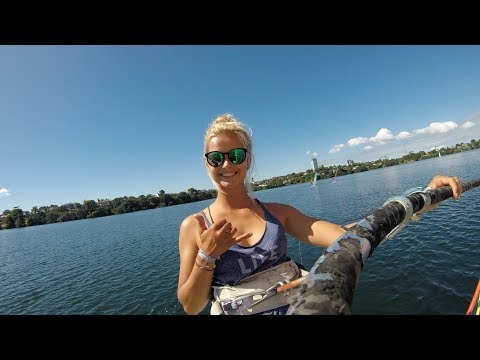 A day in the life of a windsurf instructor~ New Zealand