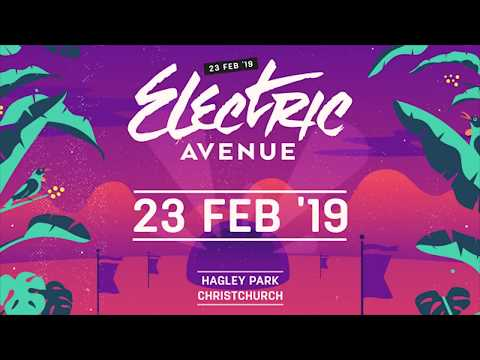 Electric Avenue Festival 2018 - Hagley Park, Christchurch