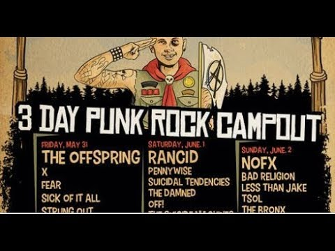 Camp Anarchy' Punk festival feat. NOFX/The Offspring/Rancid/Pennywise/ and more..