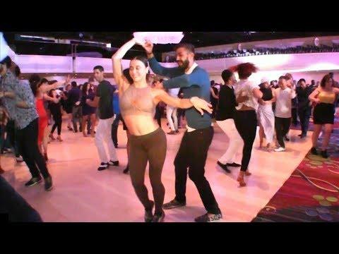 Ezgi Zaman & Panagiotis Aglamisis Social Dancing @ 2017 New York Salsa Congress!