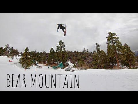 SNOWBOARDING at BEAR MOUNTAIN in CALIFORNIA 2019