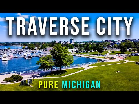 Traverse City, Michigan is a MUST-SEE! | Parks, Marinas and Beaches!
