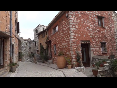 France, Tourrettes Sur Loup. Medieval Village. Round the World Trip, 12