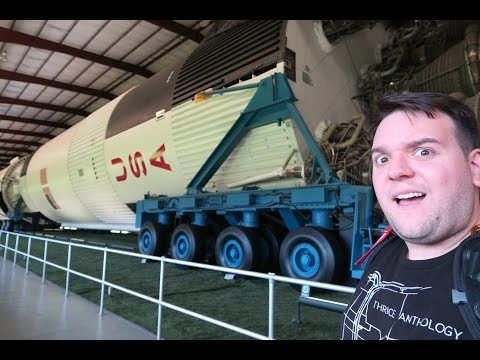 Visiting the Houston Space Center in Texas!