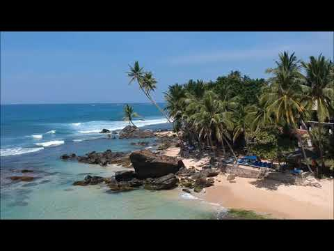 Wijaya beach in Sri Lanka DJI Spark