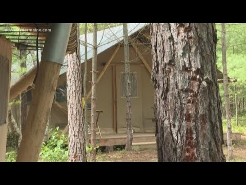 French company opens 'glamping' site in Sanford
