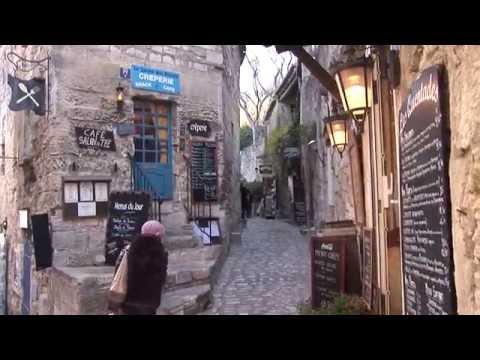 Les Baux-de-Provence, France part 1 the village