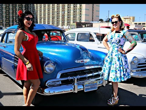 VLV 21 Viva Las Vegas Rockabilly Weekend 2018 EXTRAS, Classic Cars and INTERVIEWS