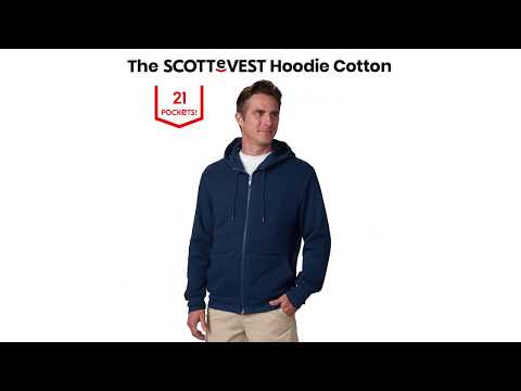 SCOTTeVEST | The Hoodie Cotton | Pocket Guide