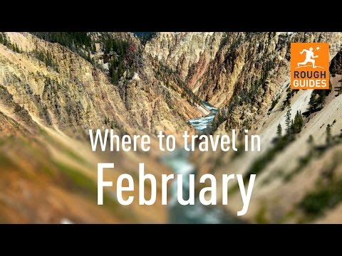 The best places to travel in February