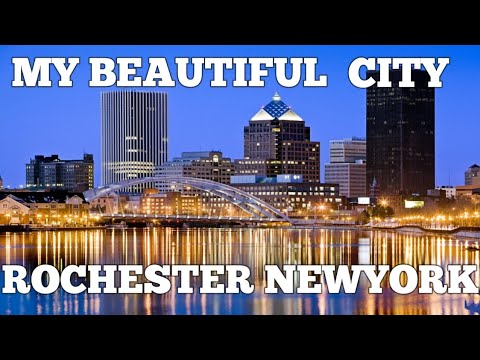 Beautiful Rochester New York US city/Downtown of Rochester New york