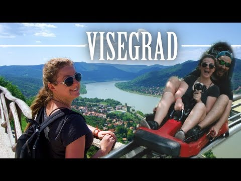 CAN YOU BELIEVE THIS IS AN HOUR FROM BUDAPEST?   Visegrad, Hungary 🇭🇺