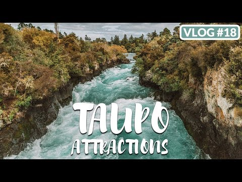 TAUPO ATTRACTIONS: HUKA FALLS, CRATERS OF THE MOON & HOT SPRINGS /// THESTYLEJUNGLE VLOG #18