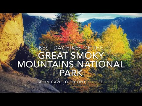 Best Day Hikes in the Smokies (Alum Cave Trail to the LeConte Lodge)