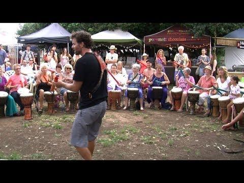 Byron Elder Beats at Harmony Day Artisan Market