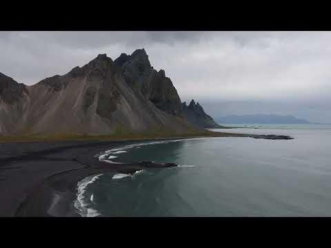 Vestrahorn   Stokksnes Peninsula   Iceland   DJI Spark