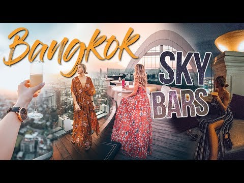 BEST SKY BARS IN BANGKOK, THAILAND
