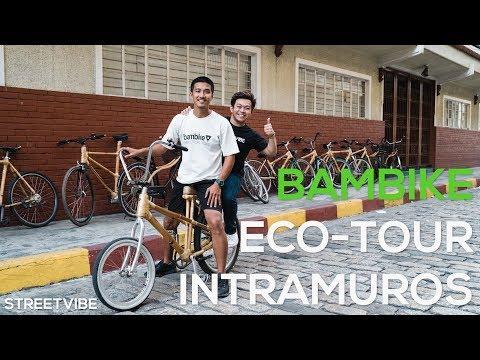 We Roamed Around Intramuros Using Bamboo Bikes!