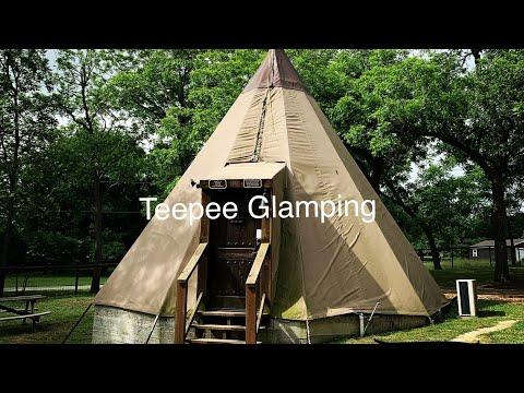 Glamping @ Geronimo Creek Retreat, BEST treehouse & teepee Rental in TEXAS