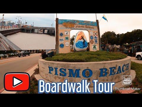 Tour Of Pismo Beach Boardwalk.. during lockdown.. #PismoBeach