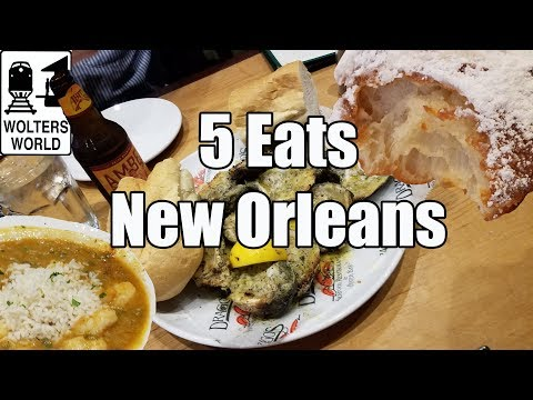 Eat New Orleans - 5 Foods You Have to Eat in New Orleans