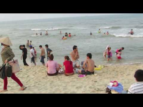 Bãi biển Thuận An Huế 2016