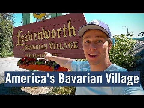 AMERICA'S hidden Bavarian Village - Leavenworth, WA