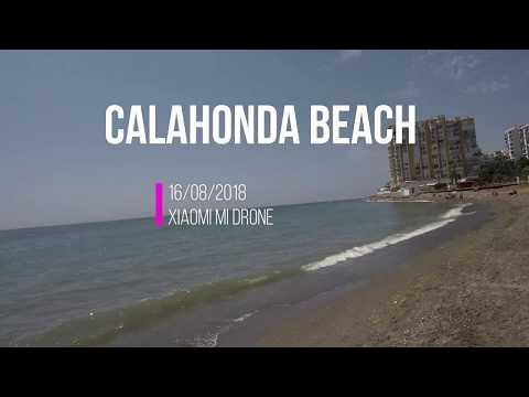 Calahonda Beach Xiaomi Mi Drone Flight