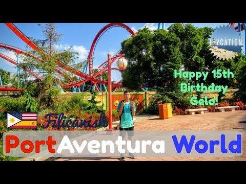 Day Trip to PortAventura World | BARCELONA TRAVEL VLOG