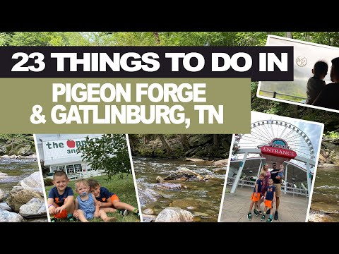 23 Things To Do in Pigeon Forge / Gatlinburg, Tennessee | Pangani Tribe
