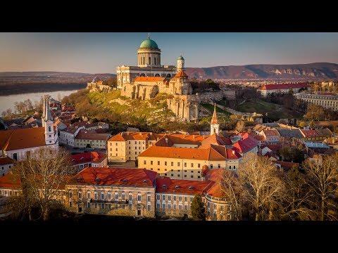 Esztergom - the Basilica, the Castle and the City - Hungary - 4K