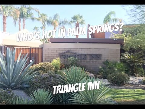 Who's Hot In Palm Springs - Triangle Inn