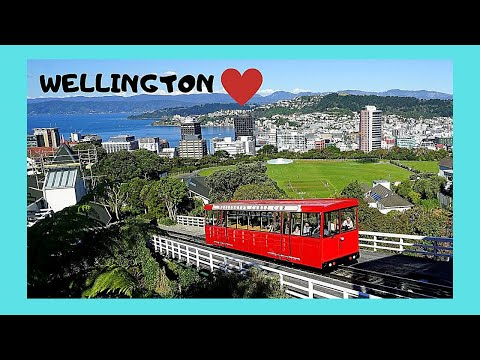 WELLINGTON'S touristy 🚝 cable car ride (New Zealand), let's go!