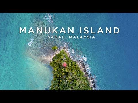 [4K] Manukan Island, Sabah Malaysia