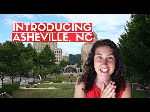 DOWNTOWN ASHEVILLE NC   Exploring Asheville as a tourist for the first time + AirBnb tour
