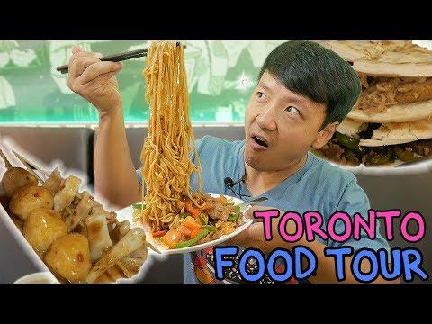 Chinese RAMEN Noodles & Pork Buns: Toronto Chinese Food Tour